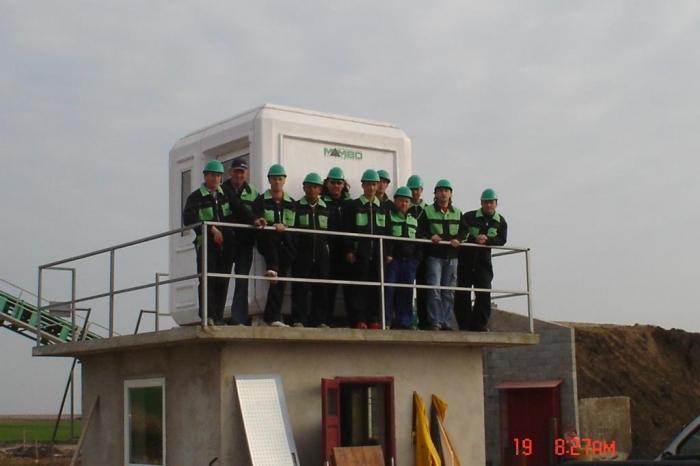Balastiera Arad - Echipa Mambo Util & Construct